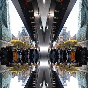 Designphotoart - People on 42 street